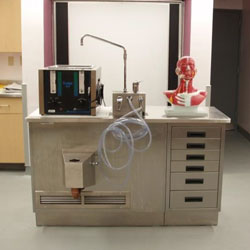 custom embalming stations