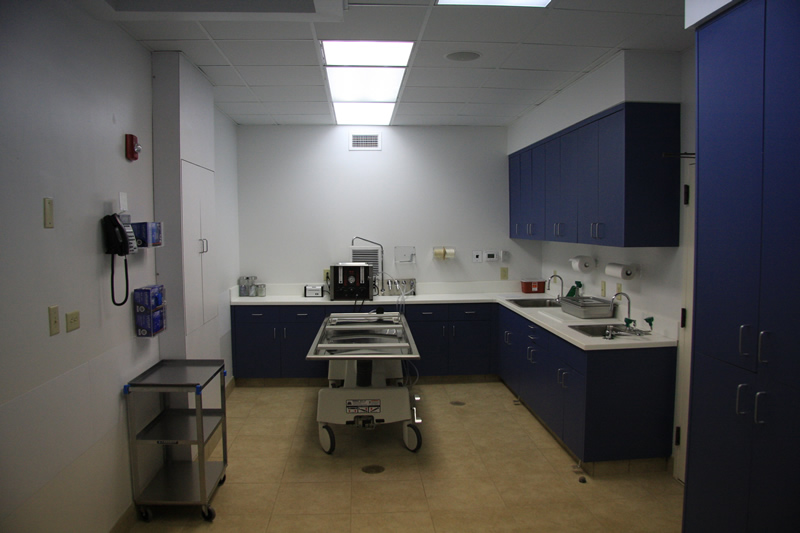 Hart s mortuary Embalming room design