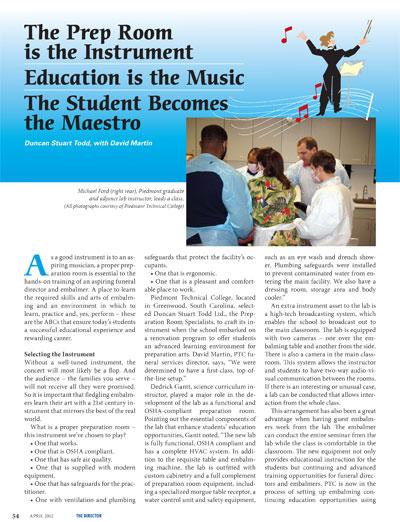 The Prep Room Instrument Education Student Maestro