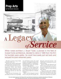 Duncan Stuart Todd A legacy of Service